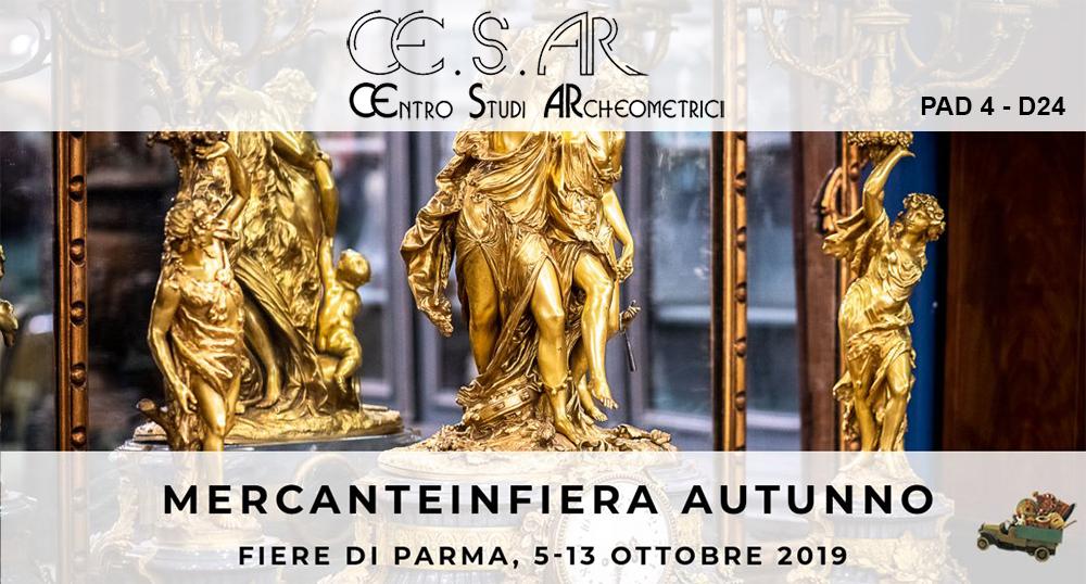 Le novità di Mercanteinfiera Autunno 2019: Ce.S.Ar. Centro Studi Archeometrici